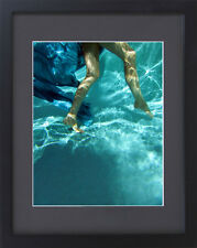 Erotic Photograph - Underwater Female Legs  - 8 x 10 Framed Color Photograph