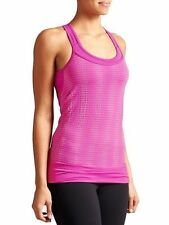 Athleta XL Top MIND OVER MATTER PIXEL TANK Hot Pink Bra Yoga Gym Shirt NWT $69