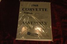 1968 CORVETTE C3 ASSEMBLY MANUAL NEW HUNDREDS OF PAGES OF DETAIL & DETAILS