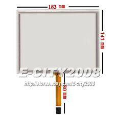 """8"""" 4wire Resistive Touch screen Panel Digitizer (4:3) for AT080TN52 V1 183*141mm"""