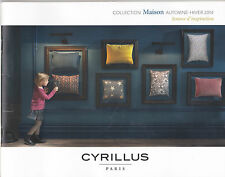 CYRILLUS PARIS - ORIGINAL CATALOGUE BROCHURE - COLLECTION MAISON - 47 PAGES