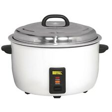 Buffalo CB944 Commercial Large Rice Cooker 23Ltr Cooked Rice/10Ltr Dry Rice