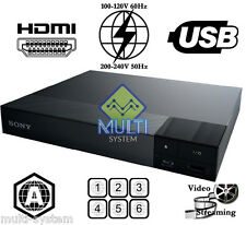 SONY BDP-S1500 Region Free Blu-Ray DVD Disc Player, BD ZONE A ONLY, DVD:0-9, USB
