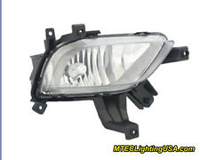 TYC Right Side Halogen Fog Light Lamp Assembly for KIA Forte 2014-2015