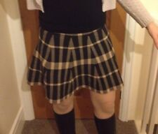 new look tartan Skirt Checked Dress Mini Skirt Kilt 10