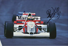 Mark Blundell Hand Signed Marlboro McLaren Mercedes F1 12x8 Photo 5.