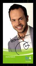 Jascha Habeck Autogrammkarte Original Signiert # BC 77125