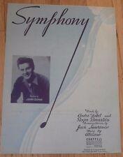 Symphony Johnny Desmond Sheet Music 1945 #4