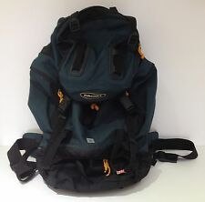 SUPERB LARGE GREEN & YELLOW EUROHIKE ADJUSTABLE RUCKSACK BACKPACK LUGGAGE HIKING