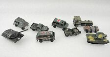 Lot of Vintage Army Military Vehicles