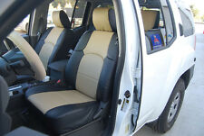 IGGEE S.LEATHER CUSTOM FIT SEAT COVER FOR 2000-2011 NISSAN XTERRA