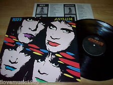 "RARE 1985 KISS Asylum 12"" LP NEAR MINT Mercury RCA Club R-163427 PERFECT vinyl"