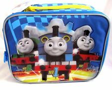 THOMAS THE TRAIN AND FRIENDS BLUE INSULATED LUNCH BAG LUNCHBOX-BRAND NEW!