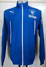GLASGOW RANGERS 2013/14 BLUE WOVEN JACKET BY PUMA ADULTS SIZE MEDIUM BRAND NEW