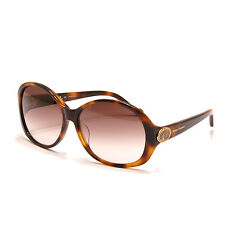 Vivienne Westwood - Brown Tortoiseshell Oversized Sunglasses with Case