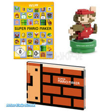 Nintendo Wii U super mario Maker incl. amiibo y artbook-OEM-nuevo