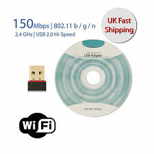 USB Chiavetta Wi-Fi per internet senza fili per PC WINDOWS MAC BOOK 802.11 B G N