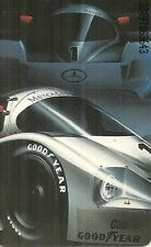 RARE / CARTE TELEPHONIQUE- GOOD YEAR PNEU TYRE FORMULE 1 F1 RACING CAR PHONECARD