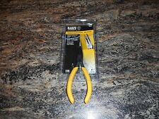 "Klein Tools 6"" standard long nose pliers, side cutting ,D203-6, NEW"