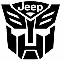 Autobot Transformers Car Truck Window Vinyl Decal Sticker for CHRYSLER RAM JEEP