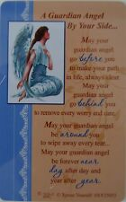 "Pocket Keepsake Messages""A Guardian Angel By Your Side""Wallet/Purse Card/Envelop"