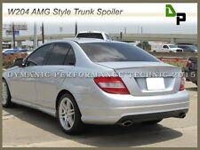 #744/775 Silver AMG Style Trunk Spoiler For M-BENZ W204 C-Class Sedan 2008-2014