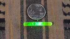 1.5 Inch mini Glow Sticks in Green Night Fishing, party,trail marker 150 pack