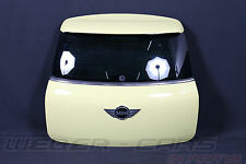 Mini Countryman R60 Heckklappe + Scheibe trunk lid  Bright Yellow (B17)
