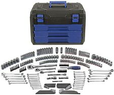 Mechanic's Tool Set with Hard Case Kobalt 227-Piece Standard (SAE) Metric New!!!