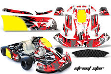 AMR Racing Graphics CRG NA2 Kart Sticker Kits Decals STREET STAR RED