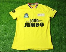 cycling SHIRT JERSEY MAGLIA CAMISETA MADE IN TURKEY TEAM LOTTO JUMBO SIZE L/XL