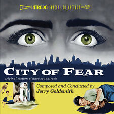City Of Fear - Complete Score - Limited 2000 - OOP - Jerry Goldsmith