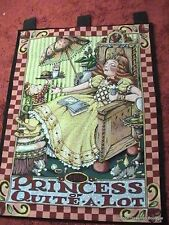 Mary Engelbreit Tapestry The Princess Of Quite A Lot Wall Hanging