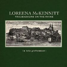 LOREENA MCKENNITT - TROUBADOURS ON THE RHINE  CD 9 TRACKS NEU