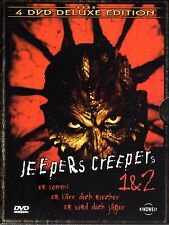 Jeepers Creepers 1 & 2 , 100% uncut , 4 Disc DeLuxe Edition , DVD , new