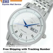 SEIKO PRESAGE SARY025 Automatic Analog Silver White Mens Watch Made in Japan F/S