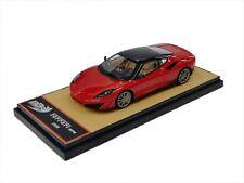 1:43 BBR Ferrari SP1 2008 Red-Black Rojo-Negro Interior Beige L.E. 556 VERY RARE