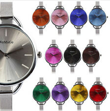 Fashion Womage Women's Lady Quartz Stainless Steel Analog Wrist Watch Bracelet