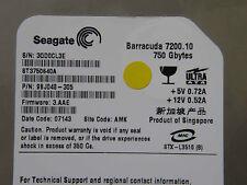 750 gb Seagate Barracuda st3750640a/9bj048-305/3.aae/AMK/Hard Disk Drive