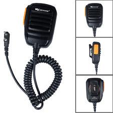 2 Pin PTT Handheld Speaker Mic Microphone for Kenwood BAOFENG TYT Walkie Talkie