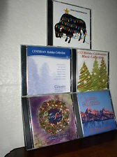 Lot of 5 Christmas CDs: Holiday Jazz 2004/Christmas in the Rockies/Holiday Celeb