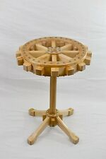 """Round side table . Industrial style. 21.75"""".  New"""