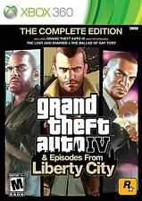 New! Grand Theft Auto IV (The Complete Edition) (Xbox 360, 2010)