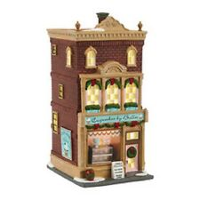 """Dept. 56 Christmas In The City """"CUPCAKES BY BELLA"""" ~ MIB ~ New For 2016"""