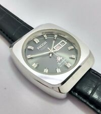 Rare Vintage Ricoh men's daydate 21Jewels automatic japan working wrist watch