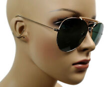 NEW VINTAGE MEN'S WOMEN'S DESIGNER AVIATOR SUNGLASSES SHADES GOLD FRAME 1106TBG