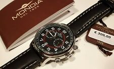 MONDIA HERRENUHR,CHRONOGRAPH,MADISON,MI715-7CP,CHRONO LEDERBAND SCHWARZ