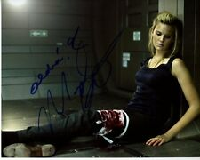 MAGGIE GRACE Signed Autographed LOCKOUT EMILIE WARNOCK Photo