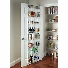 Spice Rack Wall Mount Over The Door Pantry Cabinet Shelves Kitchen Storage 8Tier