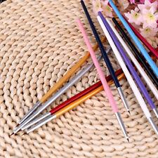 12 Pcs Colorful Nail Art Design Brush Pen Fine Details Tips Drawing Paint SetZPB